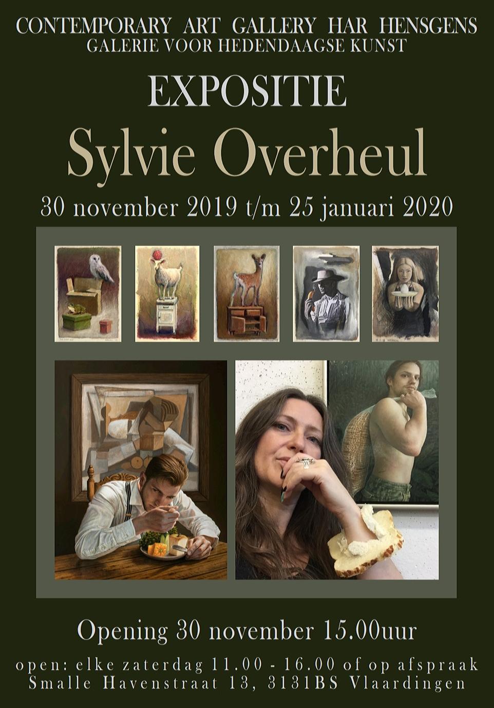 expositie Sylvie Overheul
